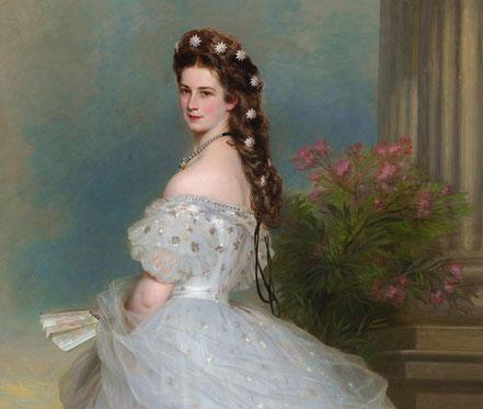 Kaiserin Elisabeth von Österreich, Porträt von Franz Xaver Winterhalter,