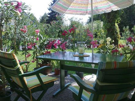 OLEANDER HAUS, Oleander Garten