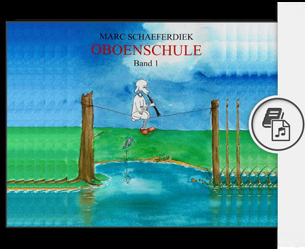 Cover der Oboenschule von Marc Schaeferdiek