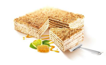 MARLENKA Honigtorte Zitrone