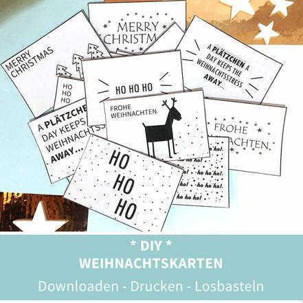 Weihnachtskarten Mit Sternen Basteln.Diy Weihnachten Diy Adventskalender Diy Weihnachtsdeko Diy