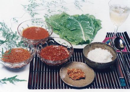 韓国三大調味料