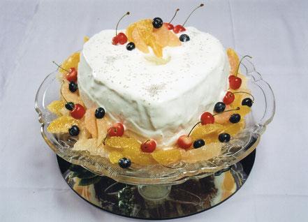 オレンジシフォンケーキ
