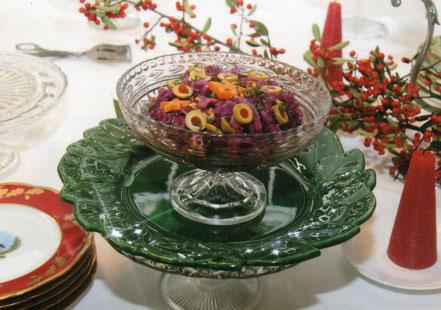 セロリ 赤キャベツのサラダ