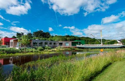 Visite parc sur la batellerie et la marine de Loire, Cap Loire