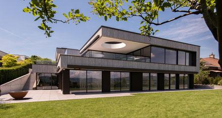 Villa mit Weitsicht, Hünenberg / 2018
