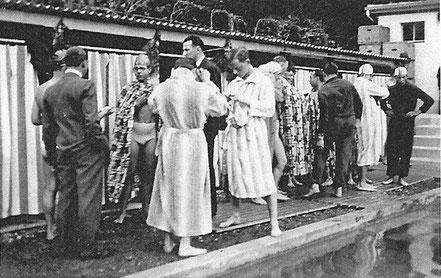 Bergbadi Schwändi Eröffnung anno 1932