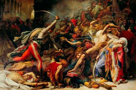 Girodet, La révolte du Caire (1810)