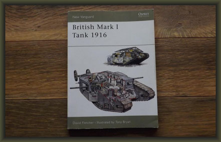 British Mk I 'Male' Tank, Diorama 1/35, Stage 4