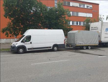prevoz robe Münchenstein Srbija