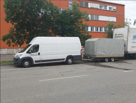prevoz robe Neuhausen am Rheinfall Srbija