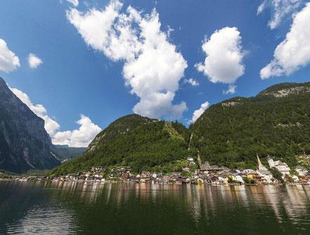 Hallstatt vom Hallstättersee 360° Panorama - © Johann Steiniger