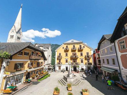 Hallstatt Marktplatz 360° Panorama - © Johann Steiniger
