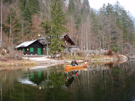 "Restaurant ""Fischerhütte"" am Toplitzsee"
