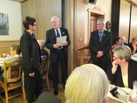 25 Jahre im Motorclub Holzminden - Edith Kühne und Bernhard Nolte