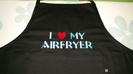 Schürze I love my airfryer