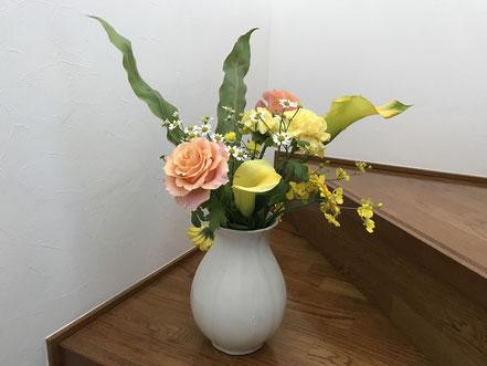 きれいなお花、クッキー、和菓子etc.プレゼントを色々ありがとうございました!