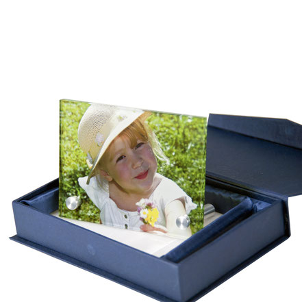 Glasfoto, Glasfoto in Farbe, persönliches Geschenk