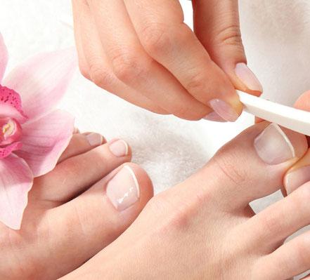 Fußpflege und Nagelpflege