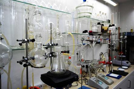 laboratorio análisis de agua