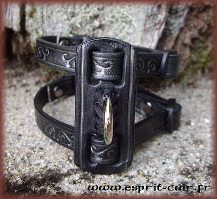 Harnais pour furet modèle celtic