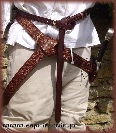 """Baudrier """"croix occitane"""""""