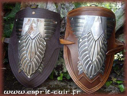 Modification des spallières d'Aragorn