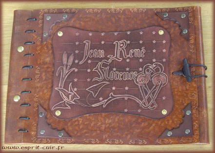 "Grimoire antique ""Jean René - Florence"""