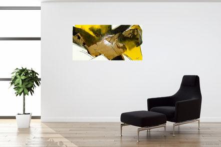 """""""bereits vergeben"""" - Nr. 242 - Öl- Mischtechnik   50x100cm"""