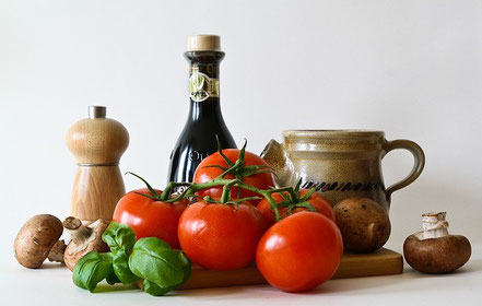 gesunde Ernährung hilft dem Rücken