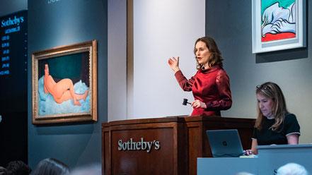 Special over Sotheby's en interview met Sarah de Clercq van Sotheby's Nederland