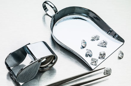 © Coster Diamonds - impressie facet geslepen diamanten