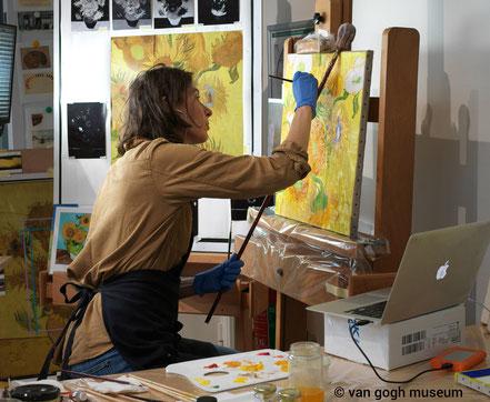 Charlotte Caspers schildert reconstructies Van Gogh - dagvandevrouwen.nl