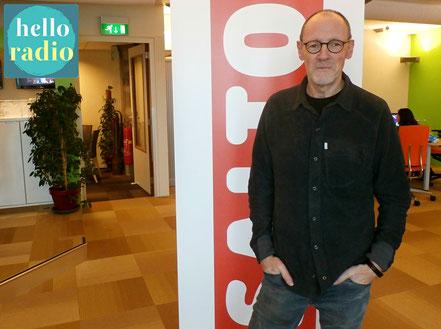 Maurice Hirschhaut van CB Coaching bij Hello Radio