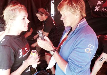 Marijke interviewt de teamleden van haar vereniging de Dolfijn, waarvoor ze vele jaren t/m 2015 uitkwam in de eredivisie.