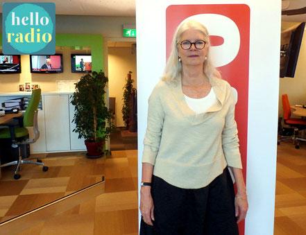 Lisette Schuitemaker van Findhorn Foundation bij Hello Radio