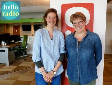 Jasja en Emsi van Oecumenische Vrouwensynode bij Hello Radio