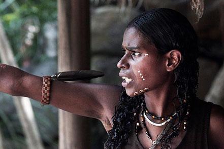 photo Steve Evans - Aboriginal vrouw