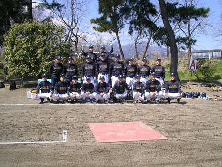 優勝した日本カーリット