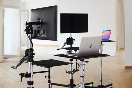 Professionelle Fototechnik Tether Tools im Mietstudio Osnabrück