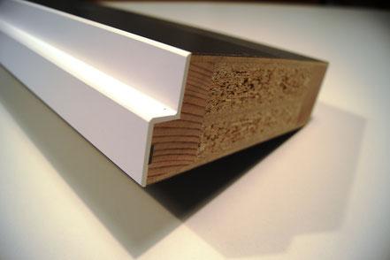 Orsopal-Beschichtung auf Kante und Kunstharz Deckbelag