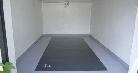 2K Beschichteter Garagenboden