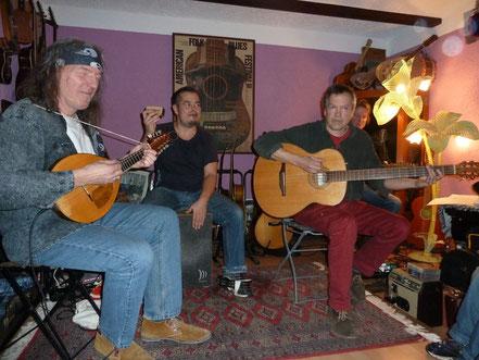 Das erste Hauskonzert im Blueshotel: Da Ding! aus Bayern