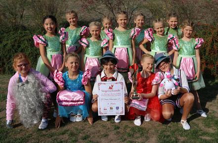 Unser Kinderballet errang den 3. Platz bei den Thüringer Meisterschaften im Jugend-Schautanz.