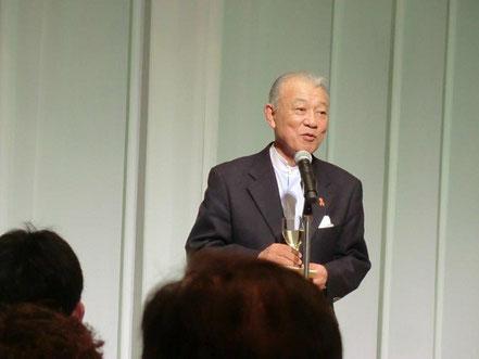 日本財団会長 笹川洋平氏