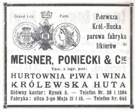 Zeitung Meisner & Poniecki