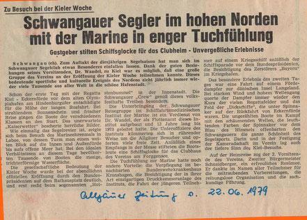 Allgäuer Zeitung vom 22.06.1979