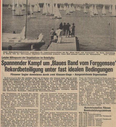 Allgäuer Zeitung von 1979