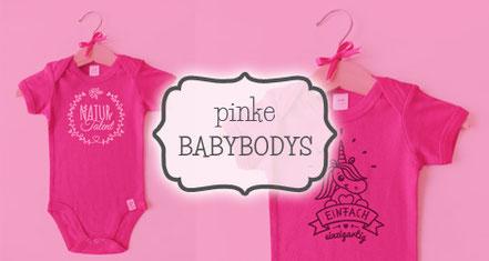 Babybodys pink - nähfein