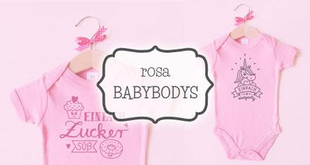 Babybodys rosa - nähfein